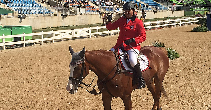 equitación deportista