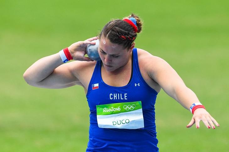 Natalia Duco/ Lanzamiento de la Bala/ JJ.OO Rio 2016