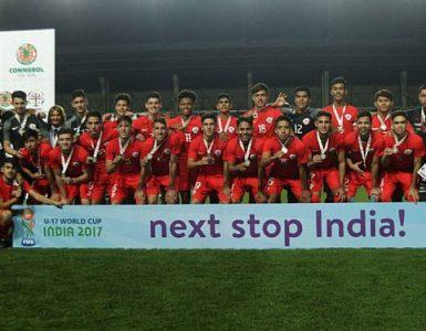 selección chilena roja sub17