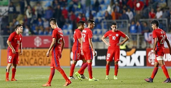 Chile 0 - Inglaterra 4 sub 17