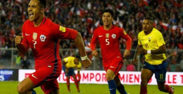 Chile vs Ecuador Bruna