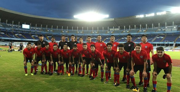 Chile vs Inglaterra Sub 17
