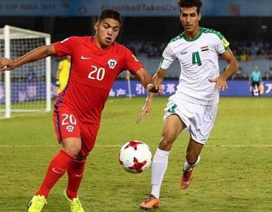 Irak vs Chile Sub 17