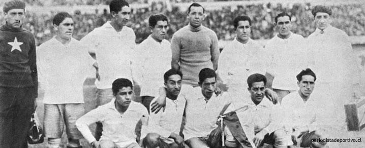 Resultado de imagen para seleccion chilena en el mundial de uruguay 1930