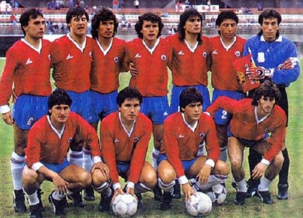 Resultado de imagen para seleccion chilena en la Copa america 1987